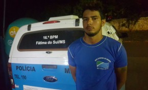 Polícia prende ladrões no travessão do Lula