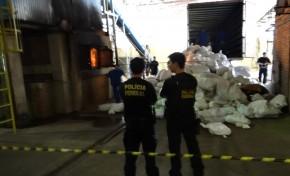 Polícia Federal incinera quase 13 toneladas de entorpecentes em Campo Grande