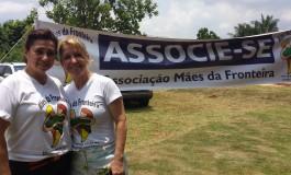 Sem sede própria, Mães da Fronteira promove evento para construir associação