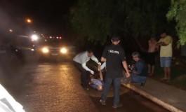 Escuridão em rua pode ter provocado morte de idoso em acidente