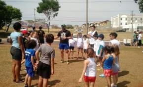 Esporte pouco conhecido abre escolinha para crianças da Capital
