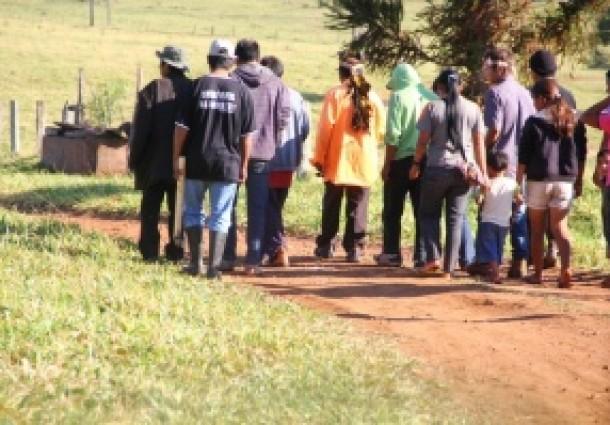 Com DOF e Força Nacional no local, produtores retomam fazenda