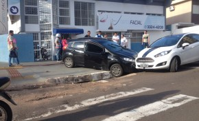Ex-marido persegue mulher e causa acidente em Campo Grande