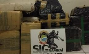Polícia Civil prende homem com 400 kg de maconha