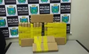 Homem é preso com 21 kg de maconha em Dourados