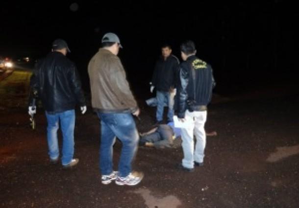 Homem morre atropelado na BR-163