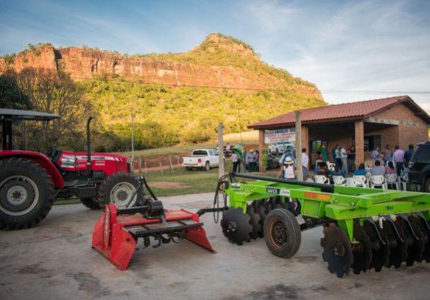 Agricultura Familiar: Produtores da Furna dos Baianos ganham patrulha mecanizada