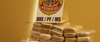 Carga de cocaína avaliada em R$ 4 milhões é apreendida pela Polícia Federal em MS