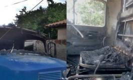 Homem tem veículo incendiado por vândalos em Sidrolândia