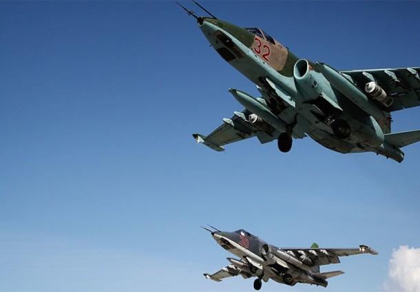 Ataques aéreos russos matam 49 terroristas na Síria