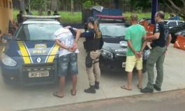 Assaltantes de ônibus são presos em Três Lagoas