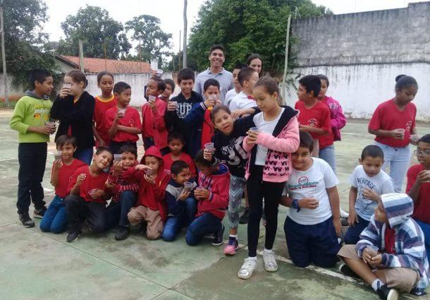 Projeto Bombeiros do Amanhã recebe visita do Rotaract