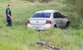 Casal morre em grave acidente na MS-162