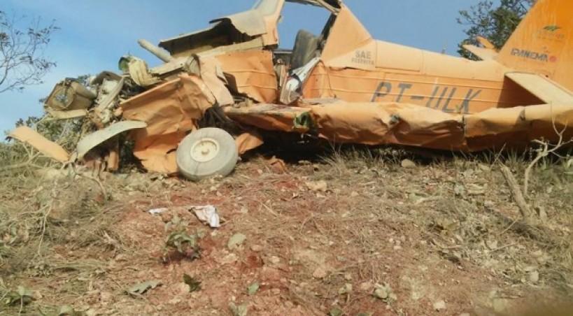 Piloto morre na queda de avião agrícola em Mato Grosso