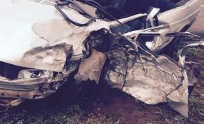 Jovem morre após colisão com carreta na BR-163