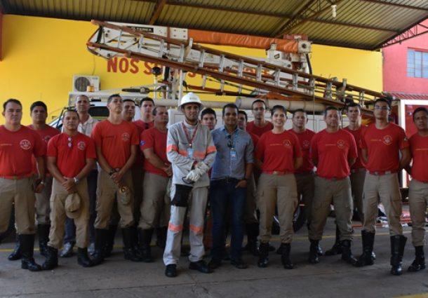Corpo de Bombeiros de Aquidauana/Anastácio realiza instrução, em parceria com a Energisa
