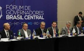 Governadores se juntam para criar consórcio e captar recursos