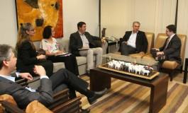 Em reunião com cônsul dos Estados Unidos, Reinaldo destaca potencial de crescimento da produção em MS