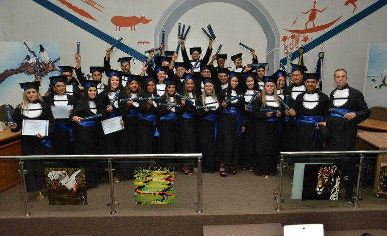 UNOPAR promove em Aquidauana a formatura da 1ª turma de Educação Física