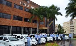 Com veículos novos, Crea aumenta fiscalização em obras no Estado