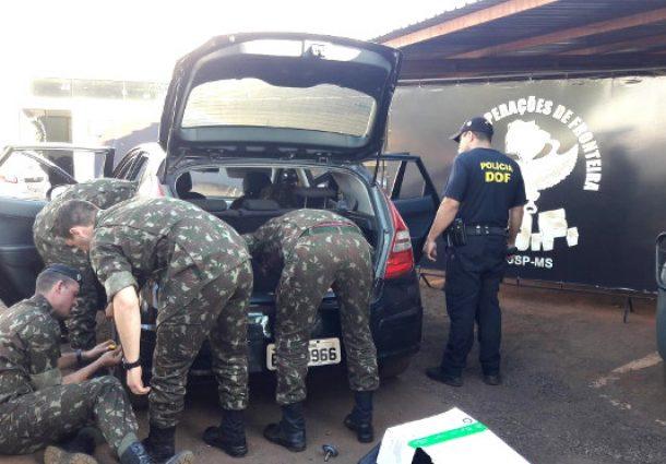 DOF realiza treinamento para militares do Exército sobre atuação na fronteira