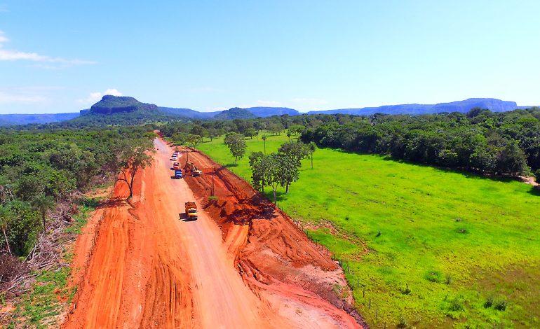 Obra de pavimentação da Estrada Ecológica avança e impulsiona um dos principais destinos turísticos de MS