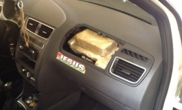 PF apreende 41,7 kg cocaína escondida em veículo na Capital