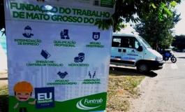 Unidade da Móvel da Funtrab realiza atendimento nesta sexta-feira no bairro Parque do Sol