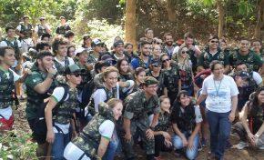 IFMS e 9º BE Cmb realizam atividades com alunos em referência à Semana do Meio Ambiente