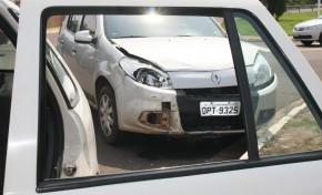 Motorista invade preferencial e causa acidente no Bairro Parati