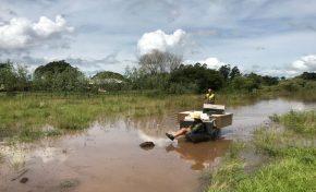Governo determina que Defesa Civil dê suporte às famílias em locais afetados pela chuva
