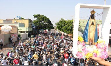 5° Moto Romaria reúne mais de 600 motociclistas em Campo Grande