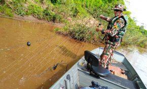 Após flagrante de pesca ilegal, PMA solta peixes no rio Miranda