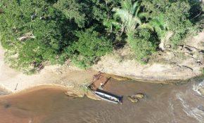 PMA usa drone e identifica homem pescando em local proibido