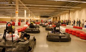 Shopping Bosque dos Ipês inaugura a maior pista de kart do estado