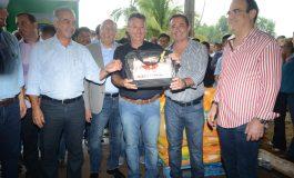 Governador entrega equipamentos para a agricultura familiar de Anastácio