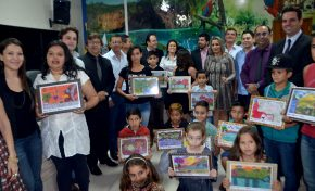 Orro participa de premiação de concurso de desenhos sobre a Serra da Bodoquena