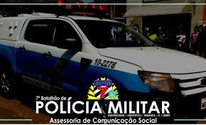 Aquidauana: Intensificação nas abordagens durante o fim de semana, garantem a prisão de pessoas em posse de drogas