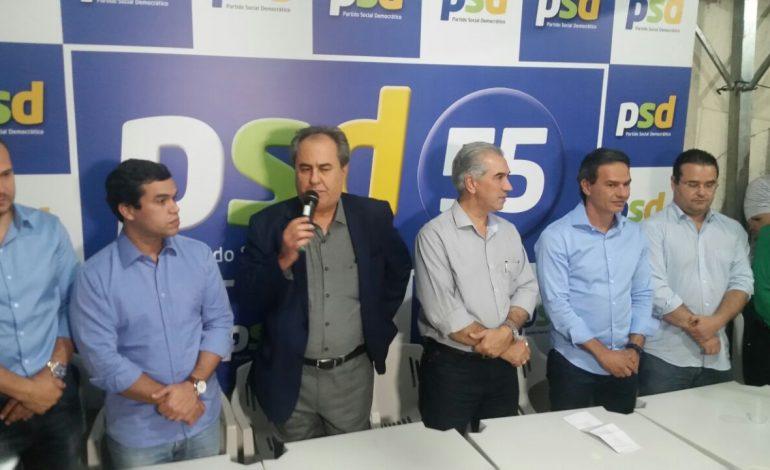 PSD anuncia apoio à reeleição de Reinaldo Azambuja