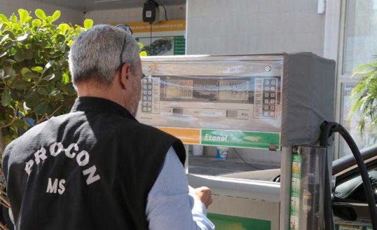Em Bonito, Procon Estadual realiza fiscalização em postos de combustível e bancos