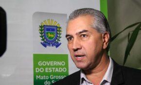 Governador prestigia posse de desembargadores do TJMS e participa de evento na Embrapa
