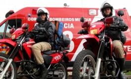 Viaturas dos bombeiros são distribuídas estrategicamente para agilizar atendimento à população