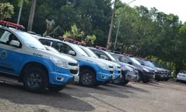 Governo do Estado entrega 25 viaturas para Polícia Militar e Bombeiros