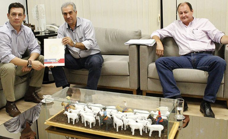 Reinaldo Azambuja discute parceria para implantar projeto Portal Morena