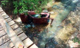 Condutor é encontrado morto dentro de carro que caiu em córrego na MS-345