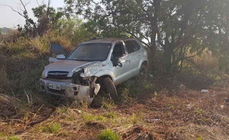 Perseguição e capotamento: PRF prende 4 traficantes em estrada vicinal