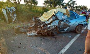 VÍDEO: Grave acidente deixa um morto e quatro feridos em rodovia