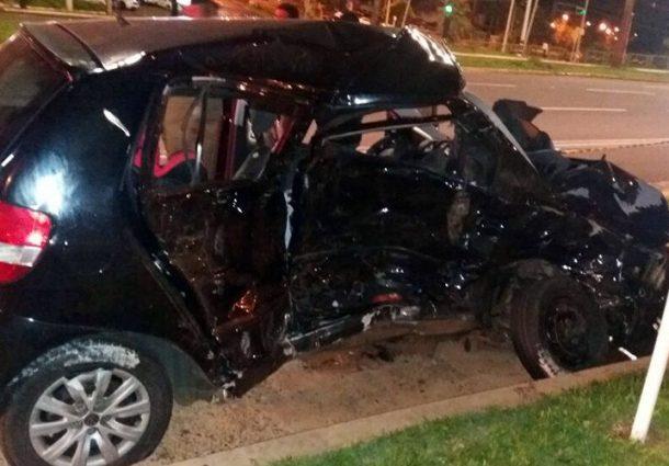 Caminhonete em alta velocidade provoca acidente com vítima fatal na Capital