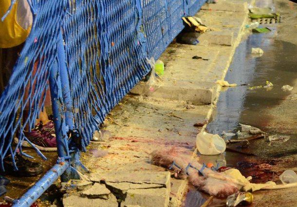Acidente com carro da Paraíso do Tuiuti deixa feridos na Sapucaí