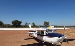 PRF apreende avião que saiu da Bolívia carregado com  300 kg de cocaína
